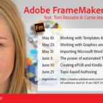 Adobe FrameMaker 2015 – webinar series