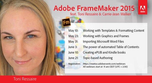 Adobe-FrameMaker-webinars