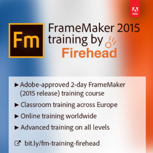 Firehead launches new FrameMaker course