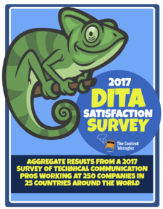 Is DITA working for you? DITA Satisfaction Survey 2017 results