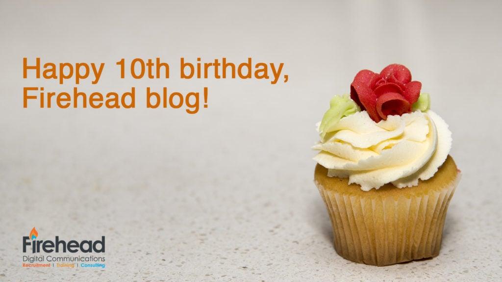 cupcake happy birthday Firehead log